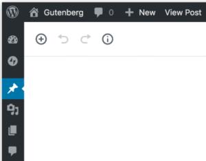 Klicka på bilden för att läsa mer hur Gutenberg i WordPress 5.0 fungerar